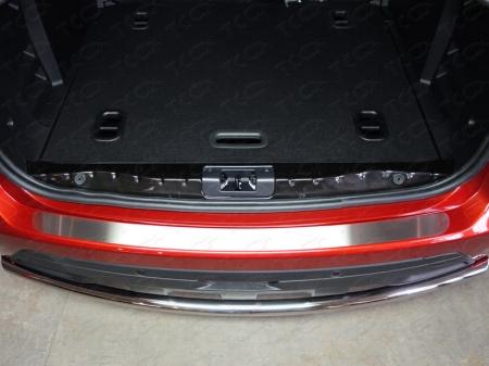 Lada XRAY(x-ray) 2016-Накладка на задний бампер (лист шлифованный)